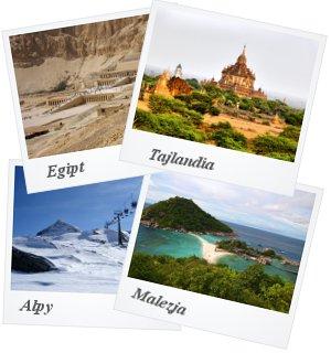 Tunezja, Alpy, Tajlandia, Malezja